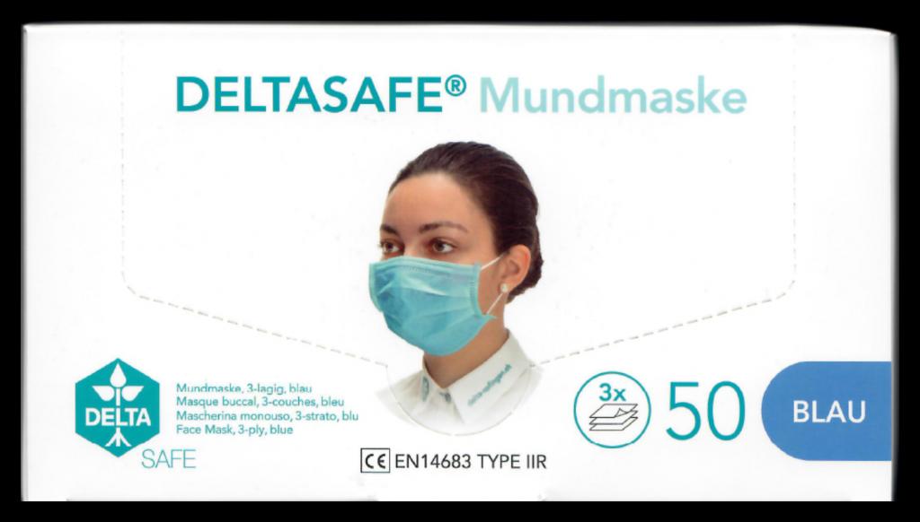 KSS Partners Covid 10 Delta Mundmaske