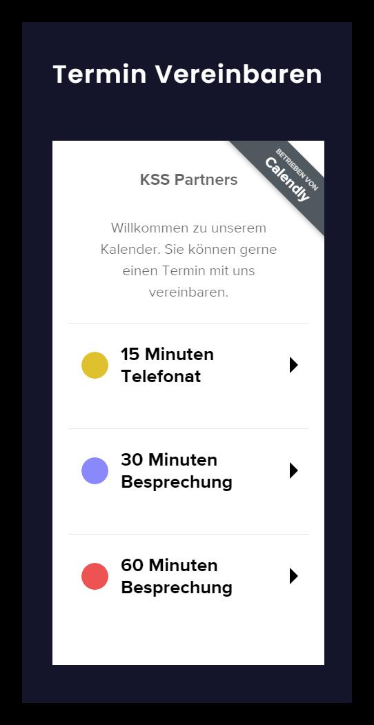 KSS Partners Termin vereinbaren